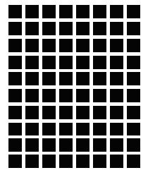 Chequer board illusion