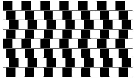 wavy line illusion
